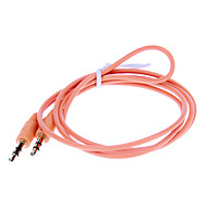 3,5 mm audio jack aansluitkabel (Oranje 1.0m)