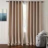 modernos dois painéis florais botânicos bege sala de estar cortinas opacas de poliéster cortinas
