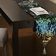Paillettes muti-couleur embelli Chemin de Table