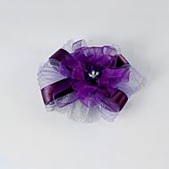 Satin et tulle élastique mariage / partie de fleur