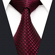 U25 Shlax & Wing Extra Long Size Wedding Necktie Solid Color Red Crimson Mens Tie Silk