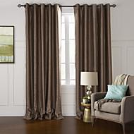 modernos dois painéis floral botânico sala de estar cortinas opacas de poliéster cortinas