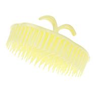 Gelb Abgerundete Shampoo Kamm
