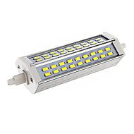 Himmennettävä R7S 15W 54xSMD 5730 2700LM 6000-6500K Cool White Light LED Corn Polttimo (AC 110-130V)