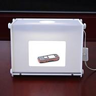 310 * 225 * 230mm Mini Photo Studio Kit Fotografie Light Box voor Network verkopers voor de mobiele telefoon horloge met Achtergrond