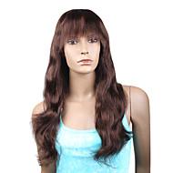 """style à la mode en dentelle Beyonce personnalisée complète naturelles ondes 16 """"cheveux remy indiens avec Bang - 26 coloris au choix"""