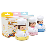 Cartoon Chef Kitchen Timer (flere farger)