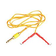cablul de clip silicagel galben