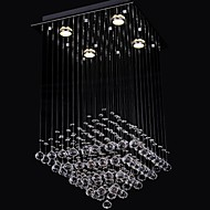 50 Flush Mount ,  Modern/Contemporary Chrome Feature for Candle Style Crystal Living Room / Bedroom / Dining Room