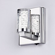 Cristal / LED / Style mini Chandeliers muraux,Moderne/Contemporain LED Intégré Métal
