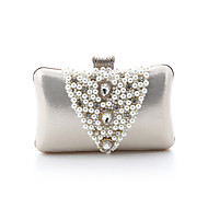 Leatherette Wedding/Special Occasion Clutches/Evening Handbags With Pearls(More Colors)