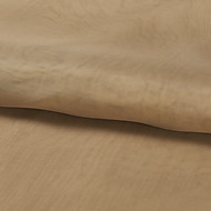 "Country Beige Solid Polyester Fabric (Fabric Weight-Light) - Width=110"" (280 cm)"