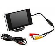 "Jtron 3.5"" Hign Definition Car Color TFT LCD Monitor Rearview DVD"