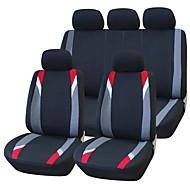 9 PCS Set Car Seat Covers universale Fit Protezione Mandato pulizia Accessori Auto