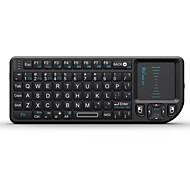 RII rt-mwk01 mini x1 2,4 GHz trådlöst tangentbord med mus pekplatta för android tv box / st / iptv