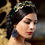 Pendentif d'oreille Boucle Alliage Imitation de perle Femme
