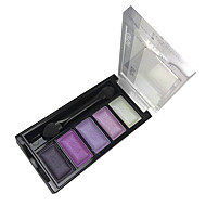5 Eyeshadow Palette Wet Eyeshadow palette Powder Normal Smokey Makeup / Daily Makeup