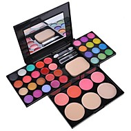 EyeShadow 39 Colors Eyeshadow Palette Makeup Palette Kit Foundation Powder Blusher Cosmetic Lipstick  Tools SV000822