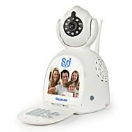 Sricam® Battery Powered Free Video Call Network Phone Remote Monitor Skypecam P2P Wireless IP Camera