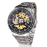 Men's Watch Mechanical Automatic Self-Winding Hollow Engraving Wrist Watch Cool Watch Unique Watch Fashion Watch