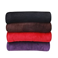 Coral fleeceSolid Solid 100% Polyester Blankets