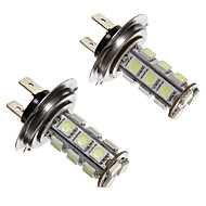 H7 2,5 W 18 LED 200lm 5050SMD Blue Light LED izzó Car (12V, 2db)