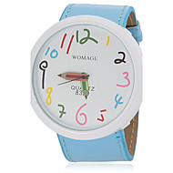 Women's Cute Pencil Pointer Round Dial Pu Band Quartz Analog Wrist Watch (Assorted Colors) Cool Watches Unique Watches Strap Watch