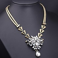 Women's Gold Necklace Birthday/Gift/Daily Multi-stone