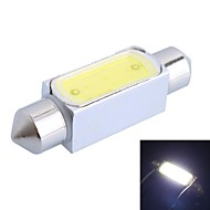 39mm 3W 150LM 6000K White LED for Car Reading Lamp (DC12V, 1Pcs)