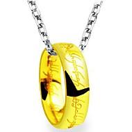 Ожерелья с подвесками Нержавеющая сталь Повседневные Бижутерия