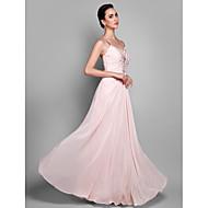 TS Couture® Prom / Formal Evening / Military Ball Dress - Beautiful Back Plus Size / Petite Sheath / Column Spaghetti Straps Floor-length Chiffon