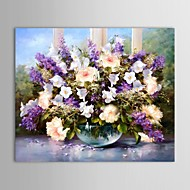 Oil Painting Still Life Faceplate with Stretched Frame Hand-Painted Canvas
