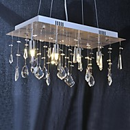 40W Chandelier ,  Traditional/Classic Chrome Feature for Crystal Metal Living Room / Dining Room / Hallway