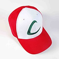 100% cotton Visor Cap Pocket Little Monster Ash Ketchum Anime Cosplay Hat