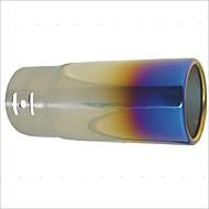 """carking ™ 2,2 """"dia inloppsfordons ersättare titan blå rostfritt avgassystem stål ljuddämpare slutrör"""