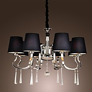 40 Chandelier ,  Modern/Contemporary Traditional/Classic Rustic/Lodge Vintage Country Island Chrome Feature for Candle Style MetalLiving