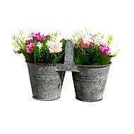 Mini, die alte Weisen, Kreativität, Schmiedeeisen Blumentopf, Flower Drum