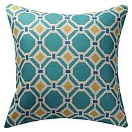 """18 """"dubbelsidigt geometriska nyhet polygon mönstertryck bomull linne dekorativa örngott"""