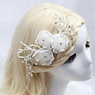 Peigne/Fleurs Casque Mariage/Occasion spéciale/Outdoor Cristal/Tulle/Imitation de perle/Zircon Femme/Jeune bouquetièreMariage/Occasion