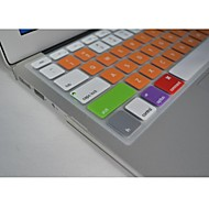 "Coosbo® Colorful Silicone Keyboard Cover Skin for 13.3"",15.4"",17"" Macbook Air Pro/Retina (Assorted Colors)"