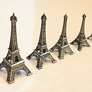 """9.8"""" H Zinc Alloy The Eiffel Tower Furnishing Articles"""