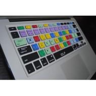 """coosbo® ps genvejstaster silikone tastatur dække huden til 13,3 """", 15,4"""", 17 """"MacBook Air pro / nethinde"""