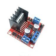 L298N Двойной Н мост Драйвер шагового двигателя контроллер совета модуль для Arduino UNO MEGA R3 Mega2560 Duemilanove Nano Robot