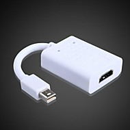 1080P MinidisplayPort converts HDMI Converter Synchronization of Video and Audio MacBook;MacBook Pro,Mac Book Air Converter