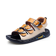 Leather Boys' Flat Heel Comfort Sandals with Buckle Shoes (More Colors)