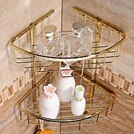 פליז זהב, ציפוי סלי מקלחת חדר רחצה חומר