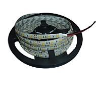 5m impermeabile 72W 300 * 5050 SMD 4800lm della luce bianca ha condotto la lampada della striscia (DC12V)