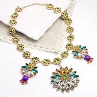 Ladies'/Women's Alloy Necklace Anniversary/Wedding/Birthday/Gift/Outdoor Crystal/Rhinestone