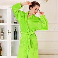 Bath Robe, High-class Fruit Green Garment Bathrobe Thicken