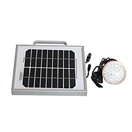 2W Solar Lighting System and Mobile Phone Charger USB Output